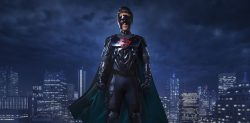 WARNING: Embargoed for publication until 18:00:01 on 07/10/2016 - Programme Name: Doctor Who Christmas Special 2016 - TX: 07/10/2016 - Episode: The Return of Doctor Mysterio  (No. n/a) - Picture Shows:   - (C) BBC - Photographer: Ray Burmiston
