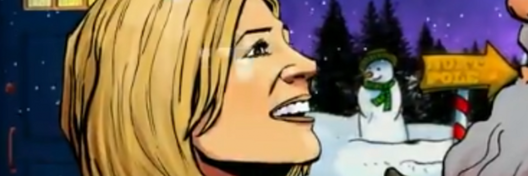 Doctor Who animated short released for Christmas