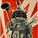 Dalek Beach Towel