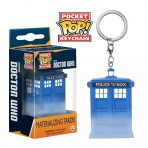 Materialising TARDIS Pocket Pop! Keychain