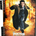 Tenth Doctor Lenticular Journal