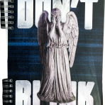 Weeping Angel Lenticular Journal